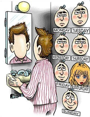 Semana de uma crossdresser