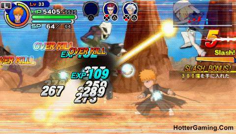 Free Download Bleach Soul Carnival PSP Game Photo