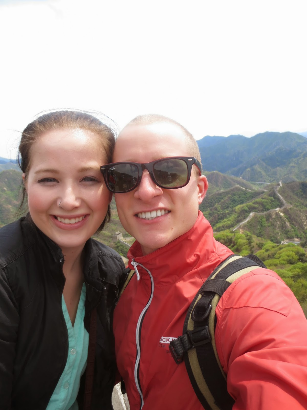Badaling Great Wall Selfie
