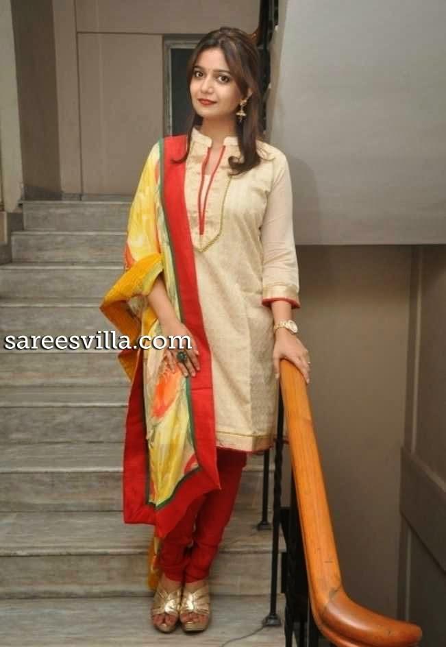 Colors Swathi in Salwar Kameez