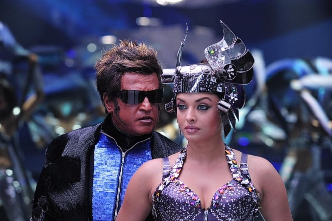 Rajinikanth and Aishwarya Rai in Tamil film Enthiran(The Robot)-12 Post-55-0-33780900-1305792689