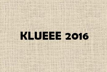 KLUEEE 2016 Logo
