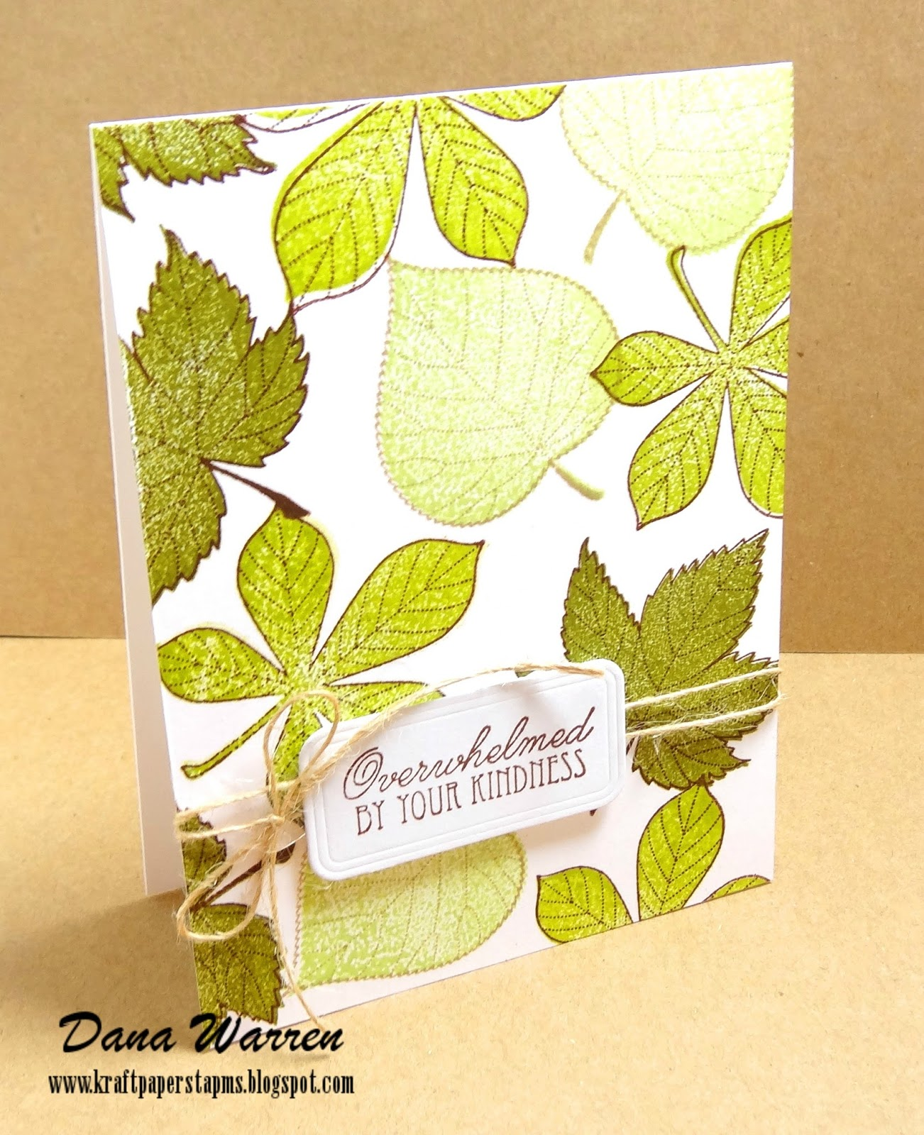 Dana Warren - Kraft Paper Stamps - Penny Black
