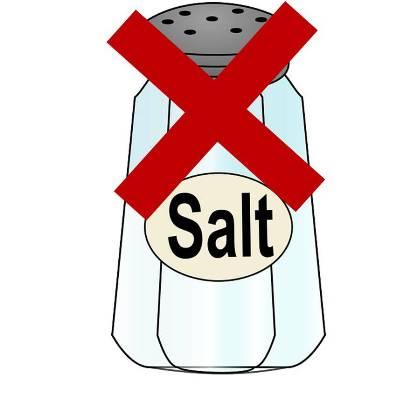Ponle freno ya al consumo excesivo de sal, tu salud te lo agradecerá
