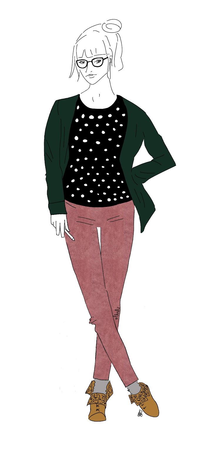 Carnet De Style La Fille Du Cours De Dessin