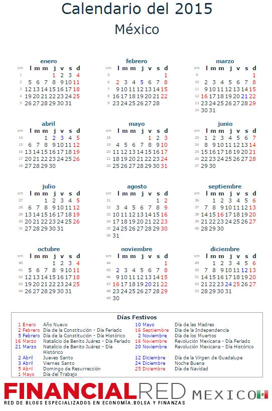 Calendario laboral 2015 for Calendario 2015 ministerio del interior