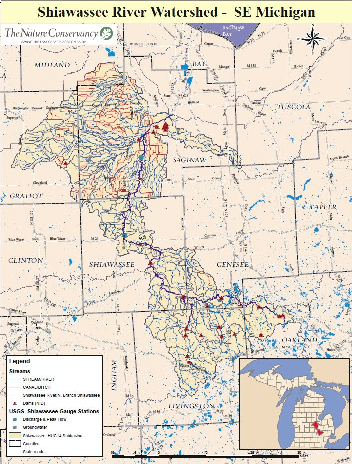 Shiawassee River - (Can\'t find it ? scroll down ): Shiawassee River ...