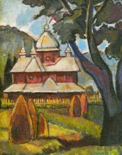 Маргит Сельская, Церковь в Карпатах, Вышков, 1979