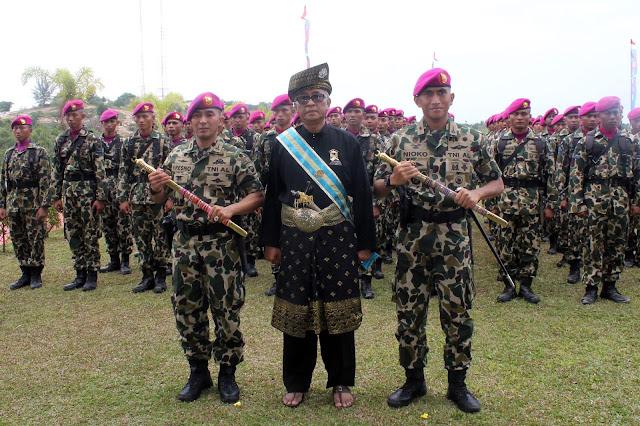 Tingkatkan Kinerja, Korps Marinir TNI AL Lakukan Restrukturisasi Organisasi di Sidoarjo dan Batam