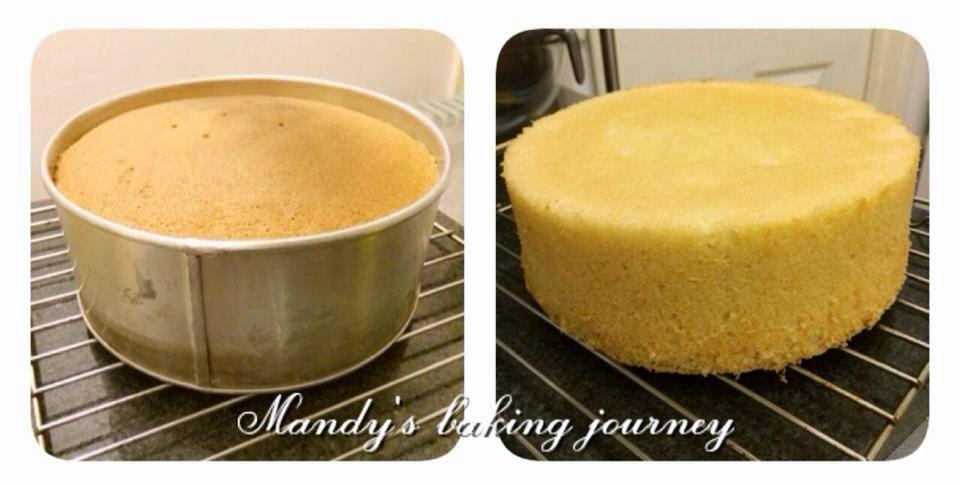 Mandys Baking Journey Genoise Sponge Recipe