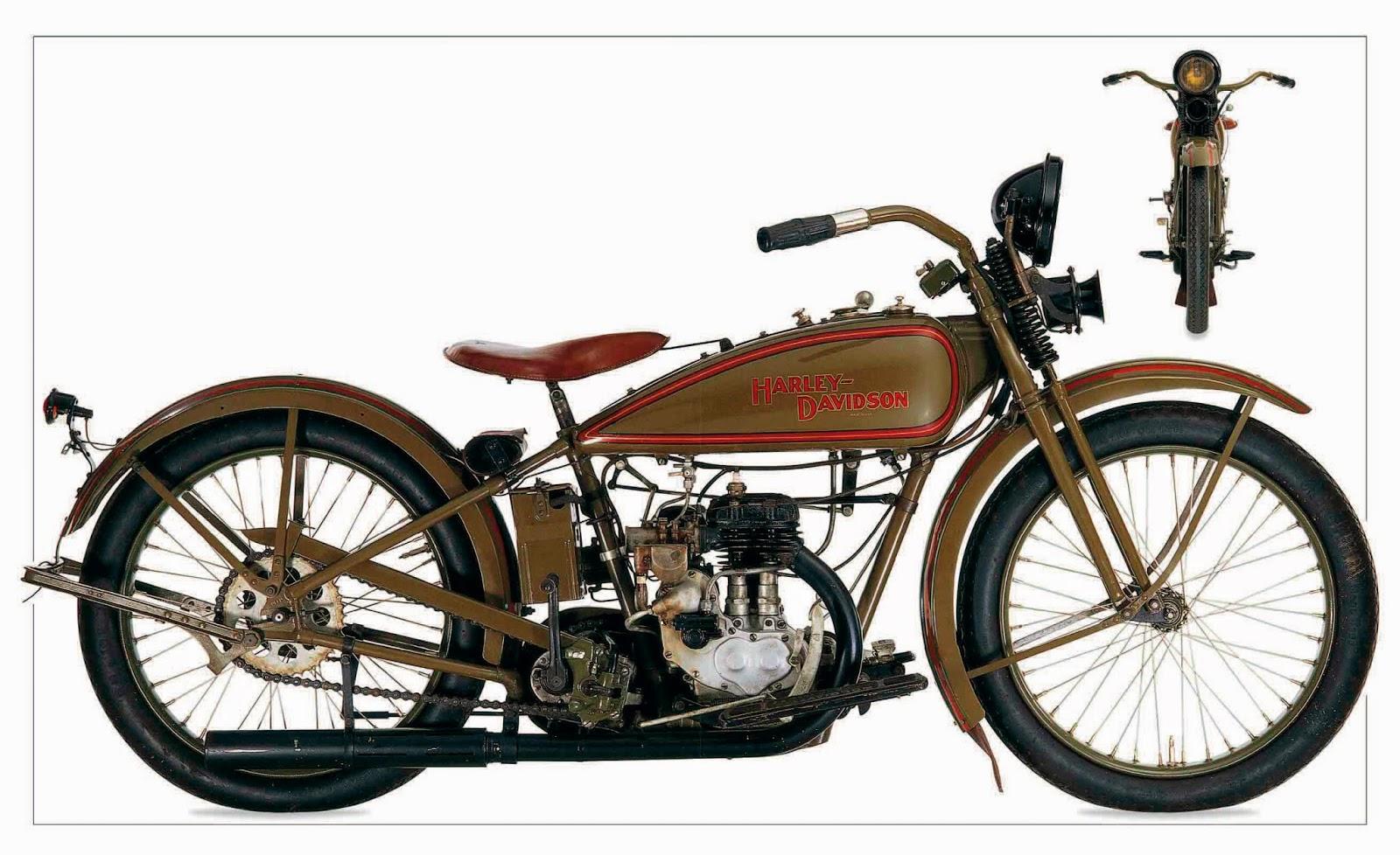 Harley Davidson 1926 Model B