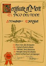 Mount Teide Tenerife 1977