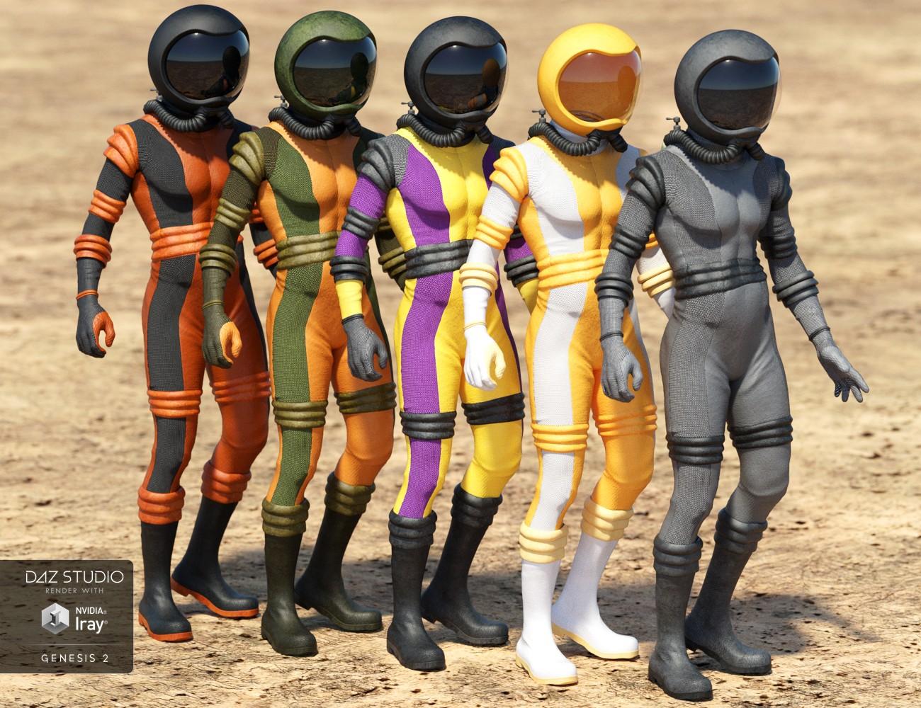 retro space suits - photo #22