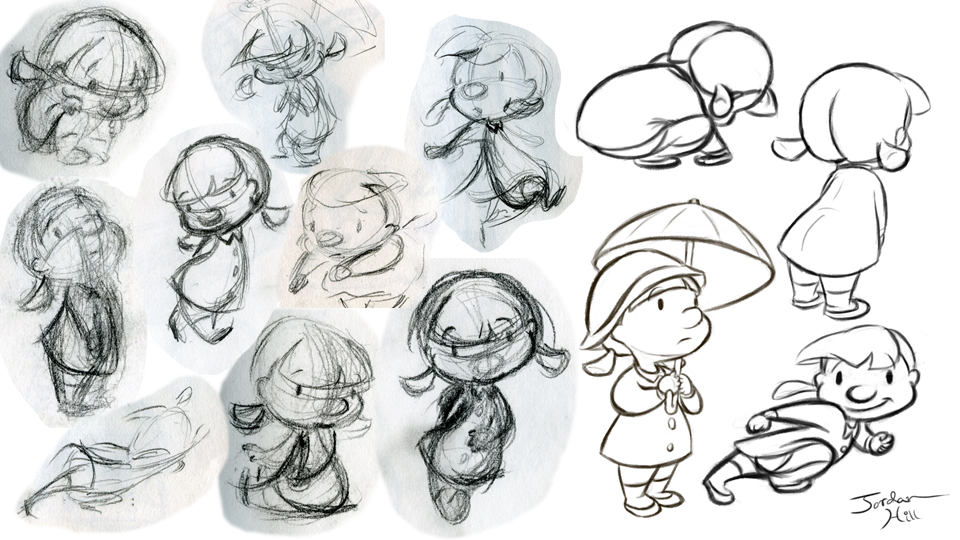 Animation Character Design Spot : Jordan hill animation illustration character design