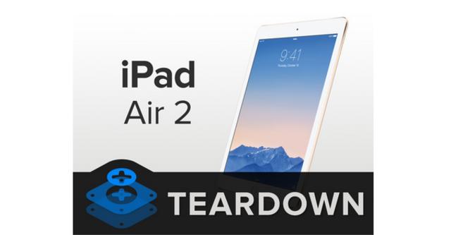 """Quá trình """"phẩu thuật"""" iPad Air 2"""