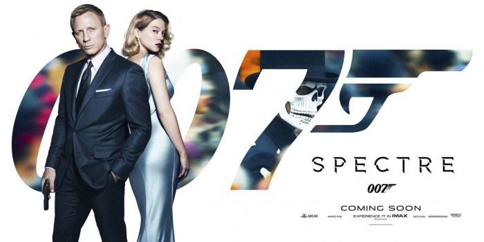 Spectre Banner Daniel Craig Keempat Kalinya Kesempatan Berperan James Bond Kali  Berhadapan Ernzt Stavro Blofeld Christoph
