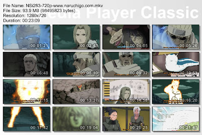 "DOWNLOAD FILM / ANIME NARUTO EPISODE 283 ""DUA MATAHARI""  BAHASA INDONESIA"