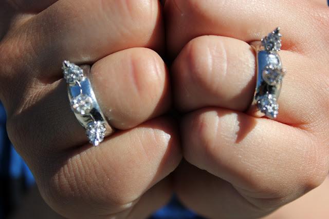 Forever 21 Spike Rings