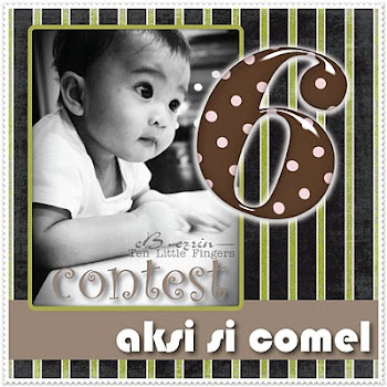 """AKSI SI COMEL with LITTLE FINGERS""..."