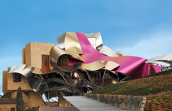 10 Unique Hotels Around The World Hotel Marques De Riscal Pictures