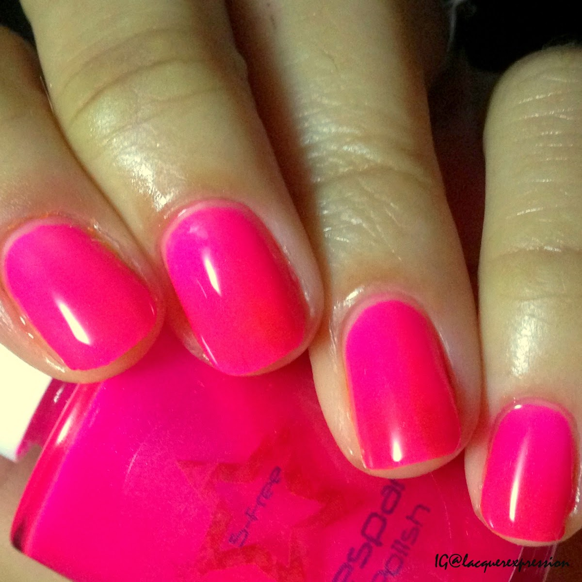 swatch and review of Ballerina Bunny nail polish by Shinespark