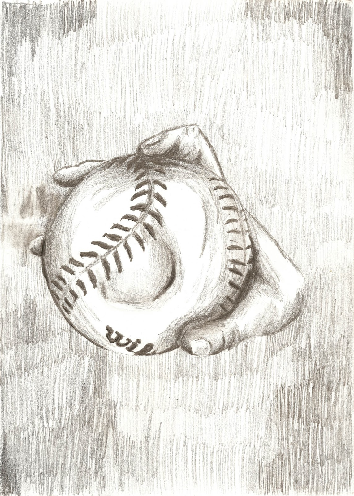 Softball pitcher drawings