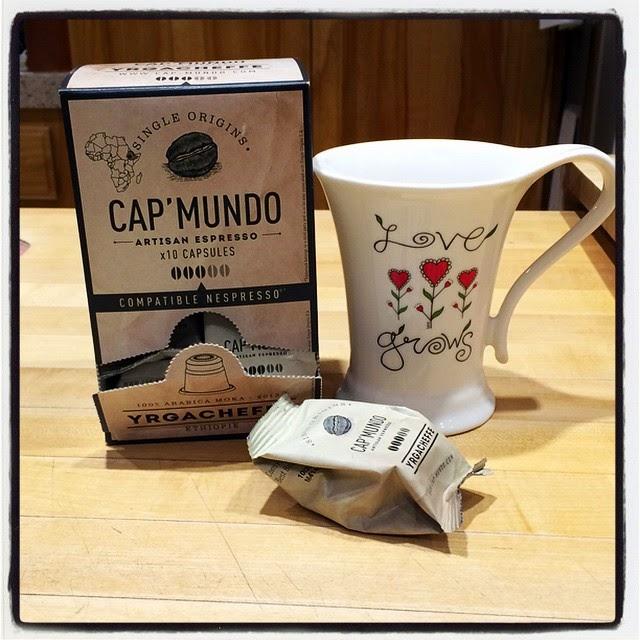 Cap Mundo Nespresso Yrgacheffe