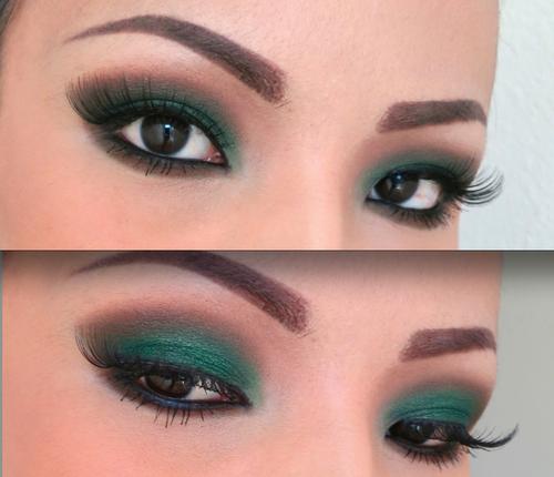 Tips de belleza tipos de maquilaje for Sombras de ojos para ojos marrones