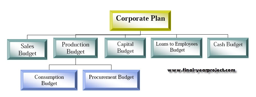 project report on budget and budgetary control Budgetary planning is the process of constructing a budget and then utilizing it to control the operations of a report budget versus actual variances to.