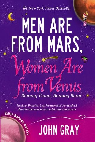 Review Buku: Men Are From Mars, Women Are From Venus (Edisi Bahasa Melayu)