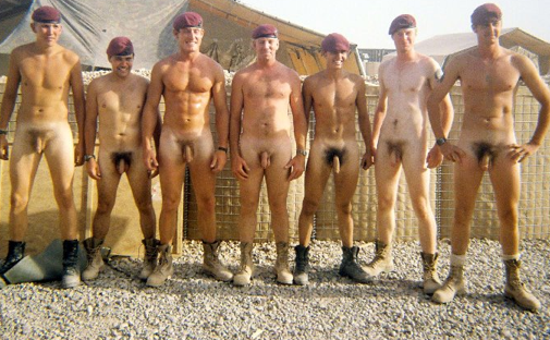 Naked British Soldiers 70