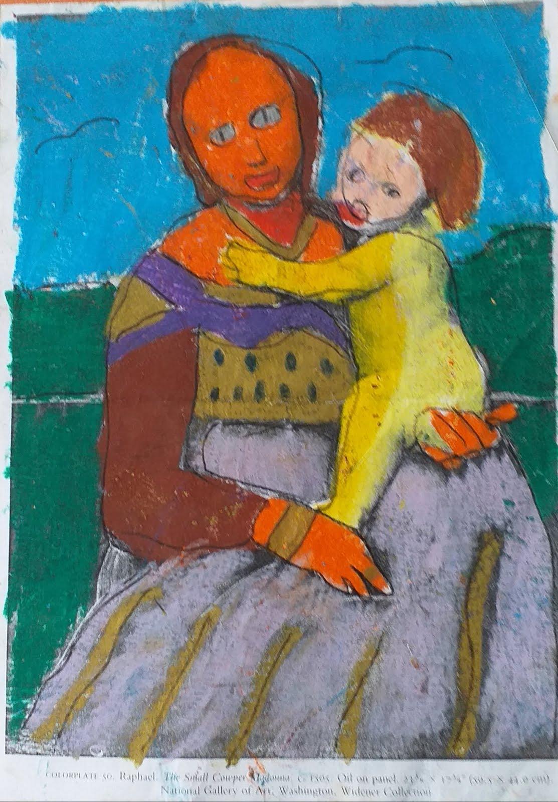 Small Cowper Madonna Raphael 1505