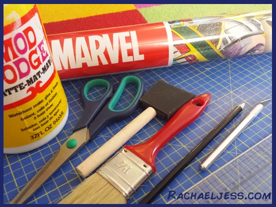 creating #marvel themed bedroom furniture - a diy & lifestyle blog