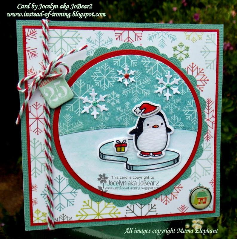 Instead of Ironing Blogspot: Mama Elephant Arctic Penguin ...
