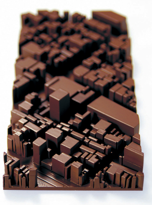 {Food} 3D Printed Chocolate City by Naoko Tone and Atsuyoshi Iijima