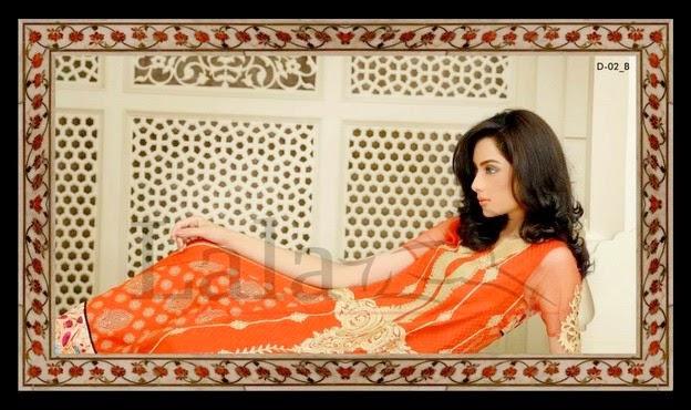 Sana Samia Magnifique Collection 2014 By Lala Textiles