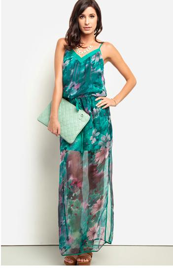 dailylook.com floral maxi dress