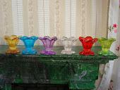 Вазы из бусин. Vases made of beads