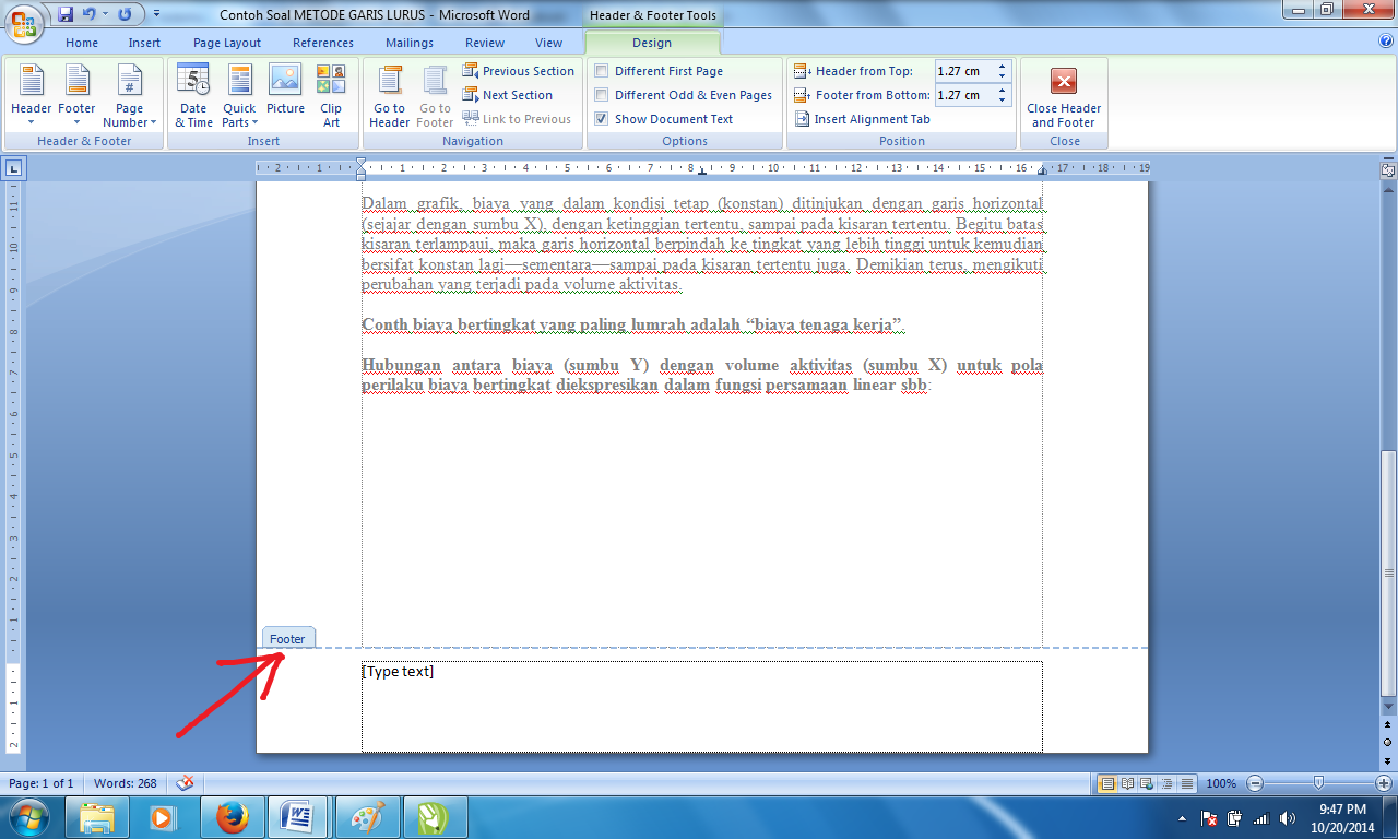Panduan Sederhana Microsoft Office 2007: Cara membuat