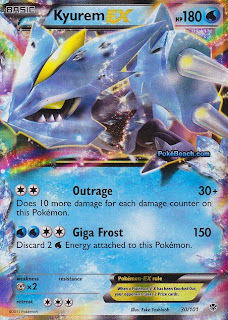 Tynamo Plasma Blast Pokemon Card