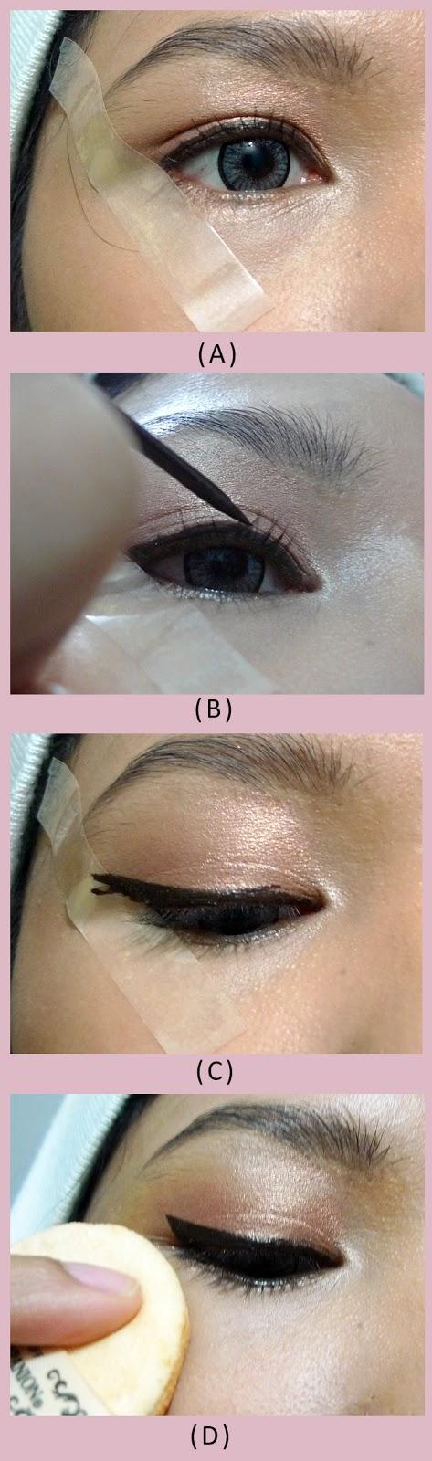 merilla may's blog: How Do I Apply My Liquid Eyeliner!!