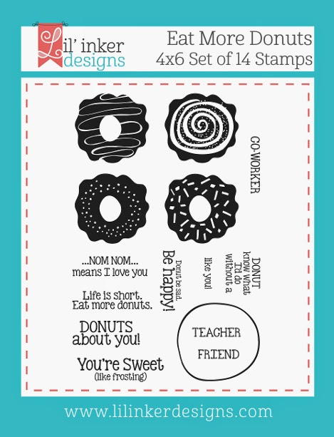 http://www.lilinkerdesigns.com/eat-more-donuts-stamp-set/
