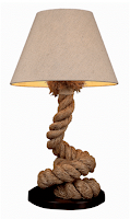 Nautical rope Pier Lamp
