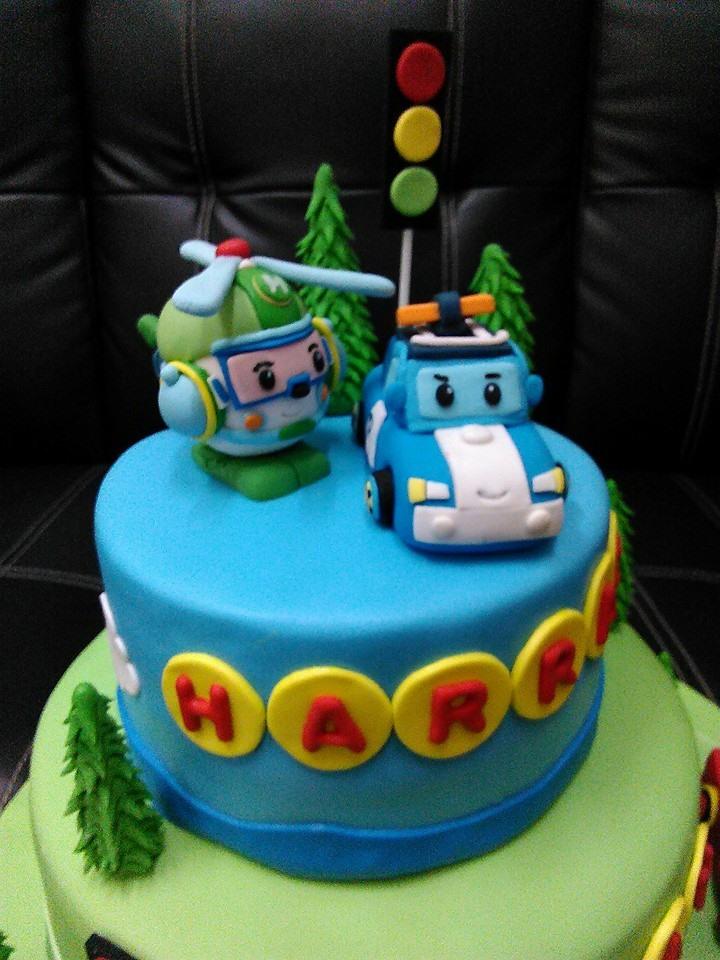 Lmis Cakes Amp Cupcakes Ipoh Contact 012 5991233 Robocar Poli Themed Cake
