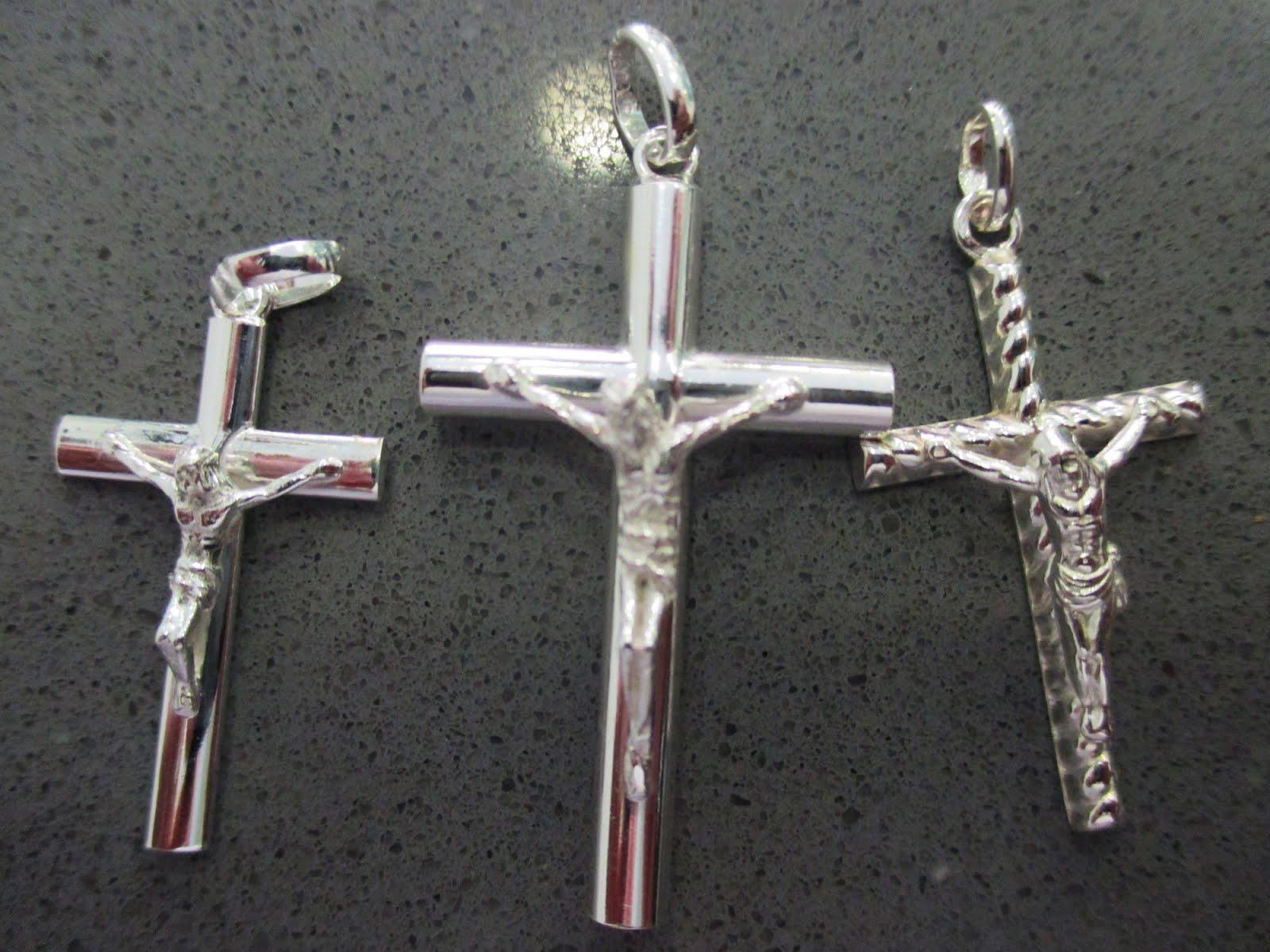 Cruces de plata