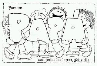 Dibujos del Dia del Padre para Pintar, parte 2
