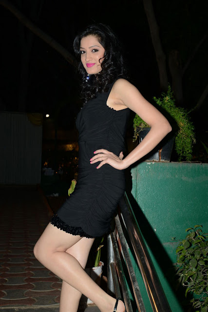 Gorgeous Richa Panai in Black