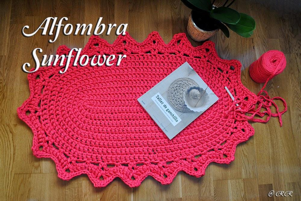 El Rinconcito de Ra: Alfombra Sunflower