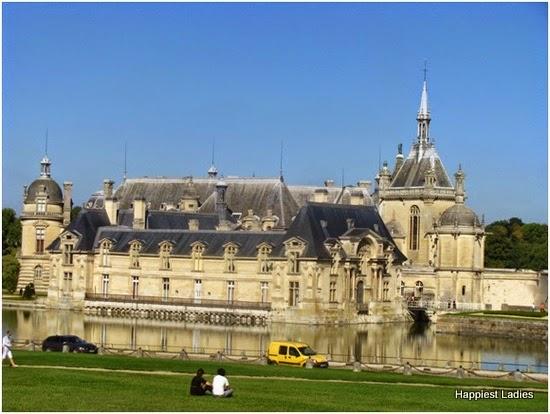palace at chantilly france