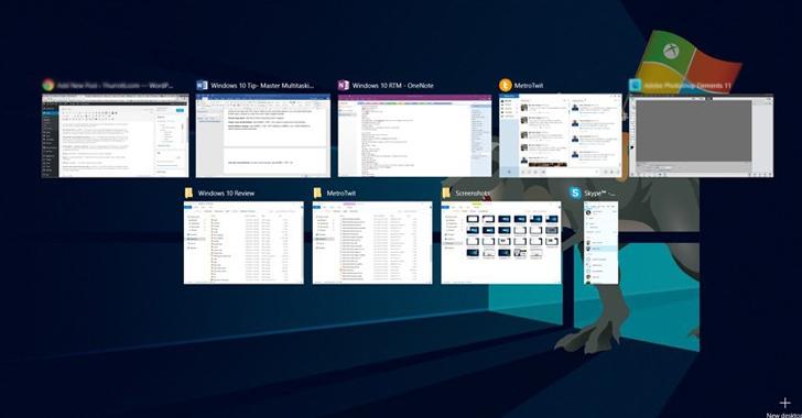 Virtual desktops & Split View for Multitasking